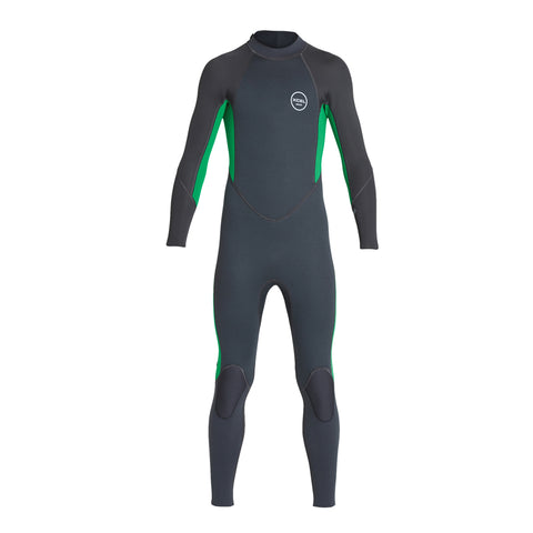 Xcel Youth Axis Flatlock 3/2mm Back Zip Fullsuit Wetsuit FA19