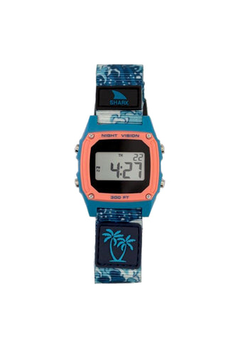 Luke Davis Signature Shark Classic Clip Watch Blue Wave