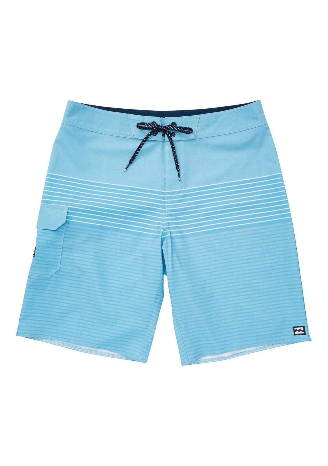 All Day Heather Stripe Boardshorts