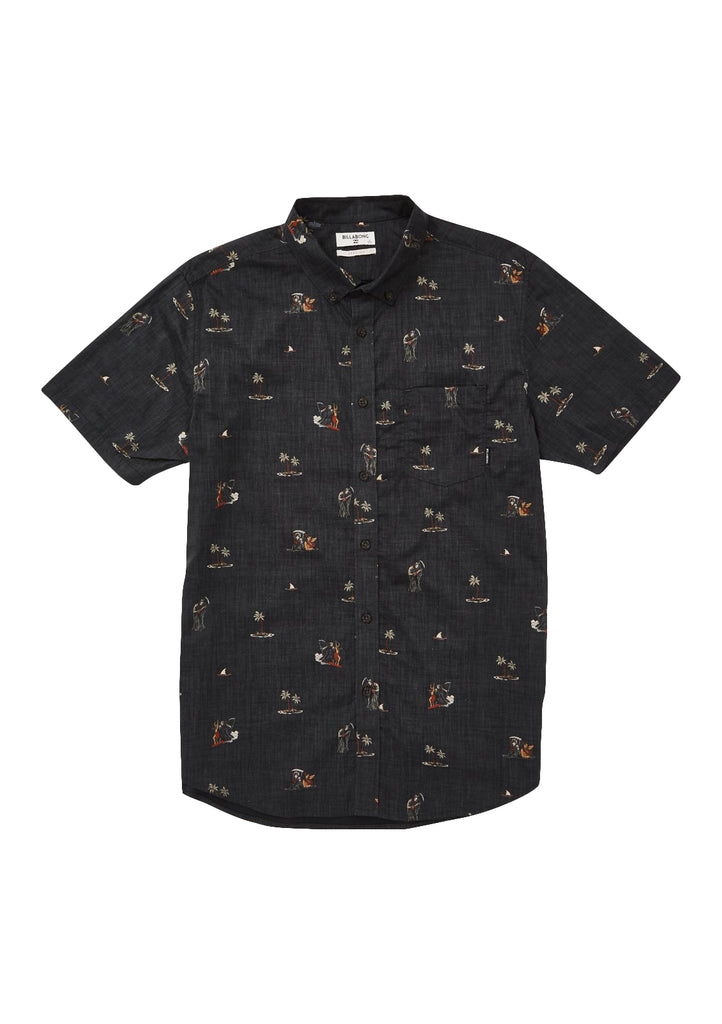 Sunday's Floral Short Sleeve Shirt