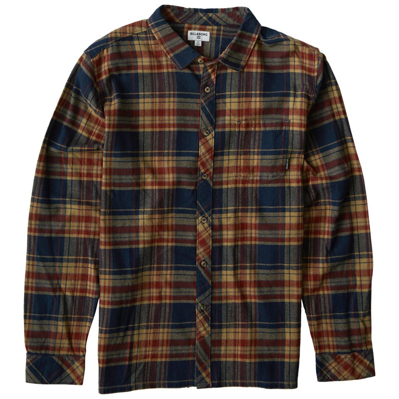 Coastline L/S Flannel Shirt