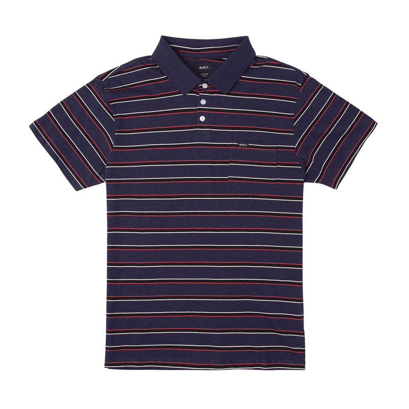 Desmond Stripe Polo Shirt