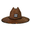 Tides Print Lifeguard Straw Hat