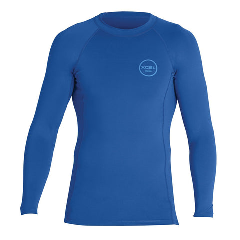 Xcel Men's Premium Stretch Performance Fit L/S Rashguard FA19