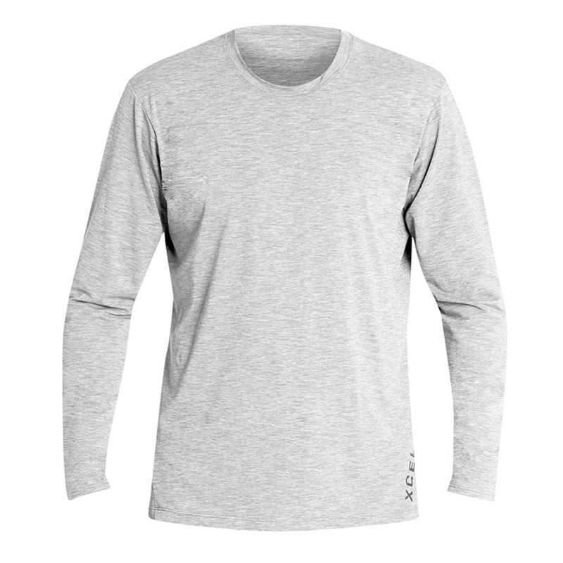 Xcel Men's Heathered Ventx L/S Rashguard