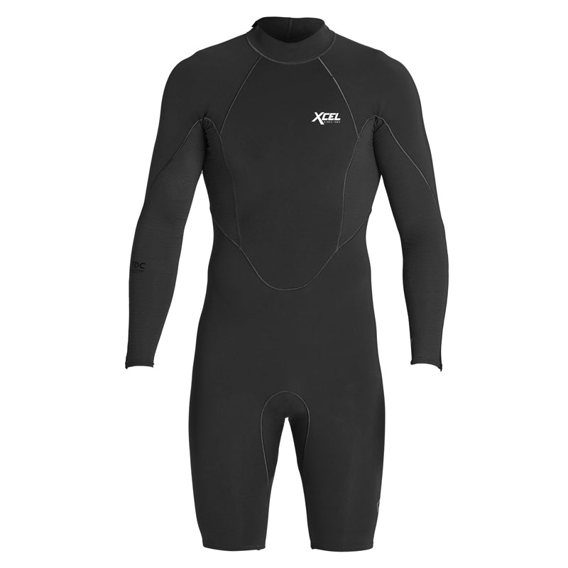 Xcel Men's Comp x 1/0.5mm L/S Back Zip Springsuit FA19