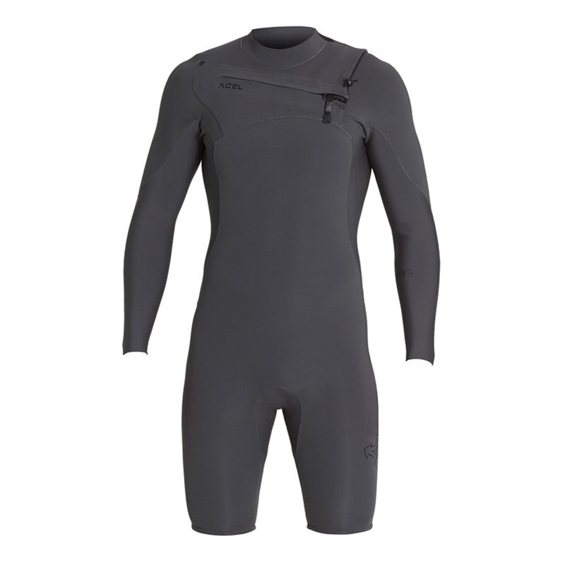 Xcel Men's Comp X 2mm Chest Zip L/S Springsuit