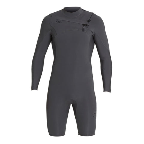 Xcel Men's Comp X 2mm Chest Zip L/S Springsuit FA19