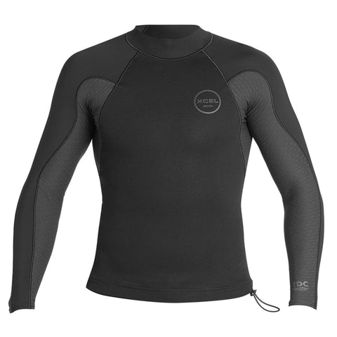 Xcel Men's Axis Smart Fiber 1/0.5mm Wetsuit Top FA19