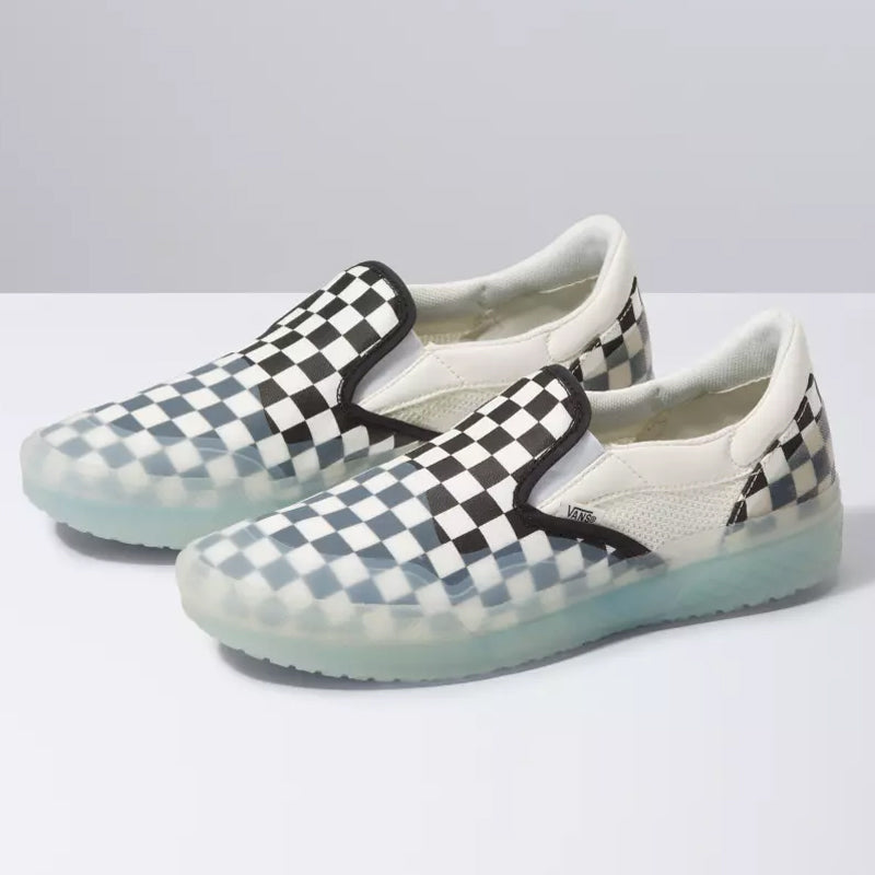 MOD Slip-On Checkerboard Shoes