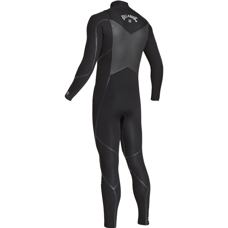Billabong Men's 3/2mm Absolute Furnace X Chest Zip Fullsuit Wetsuit FA19