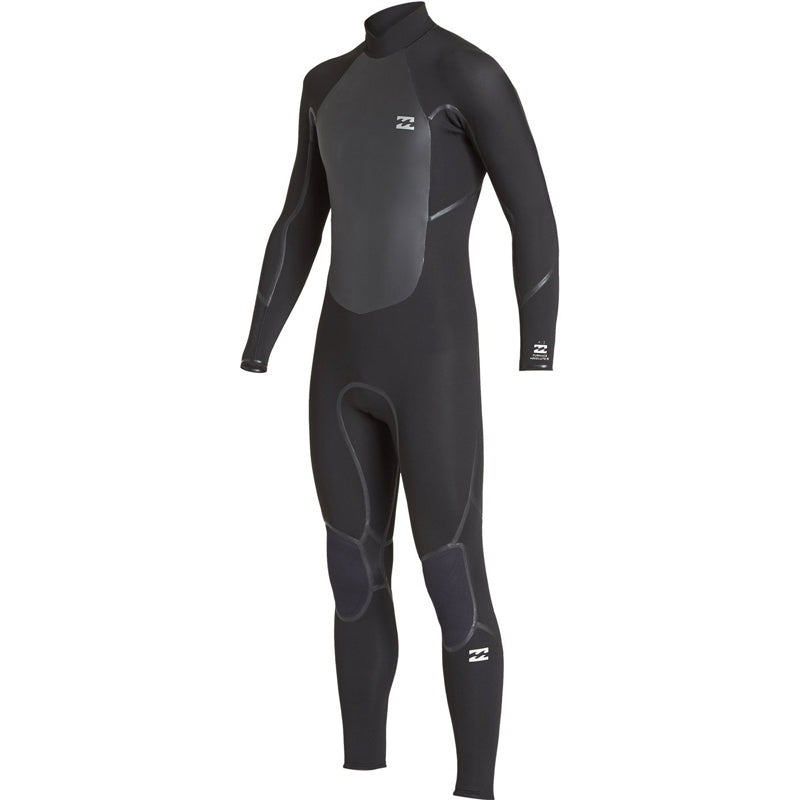 BIllabong Men's 3/2mm Absolute Furnace X Back Zip Fullsuit Wetsuit FA19
