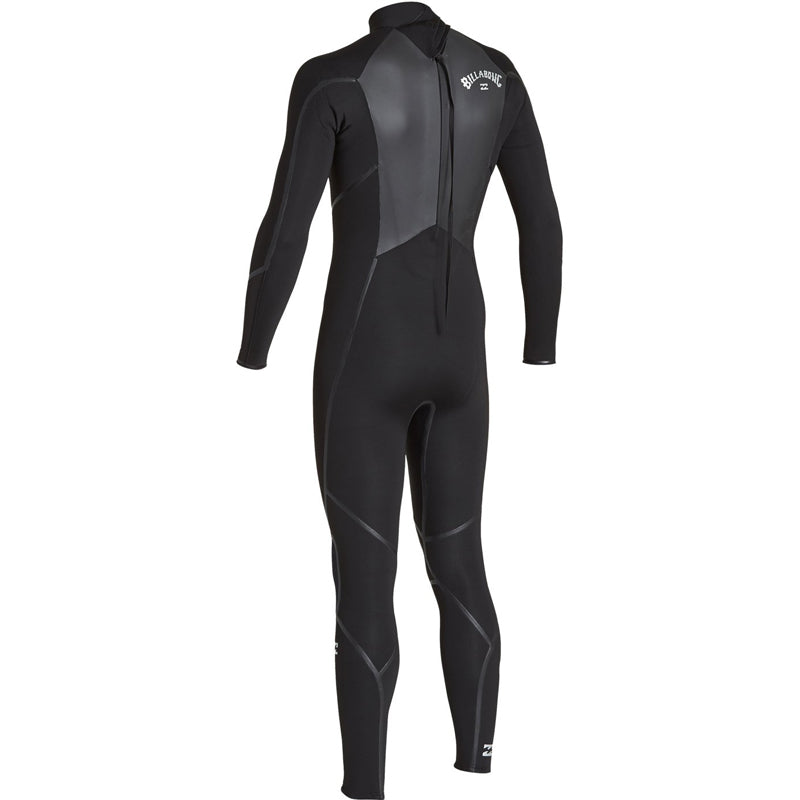 Billabong Men's 4/3mm Absolute X Back Zip Fullsuit Wetsuit FA19
