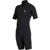 Billabong Men's 2mm Absolute Back Zip S/S Flatlock Springsuit Wetsuit FA19