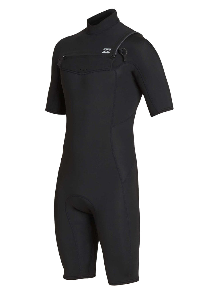 202 Absolute Chest Zip Short Sleeve Springsuit