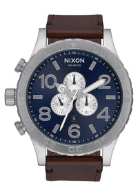 Nixon Men's 51-30 Chrono Leather Watch