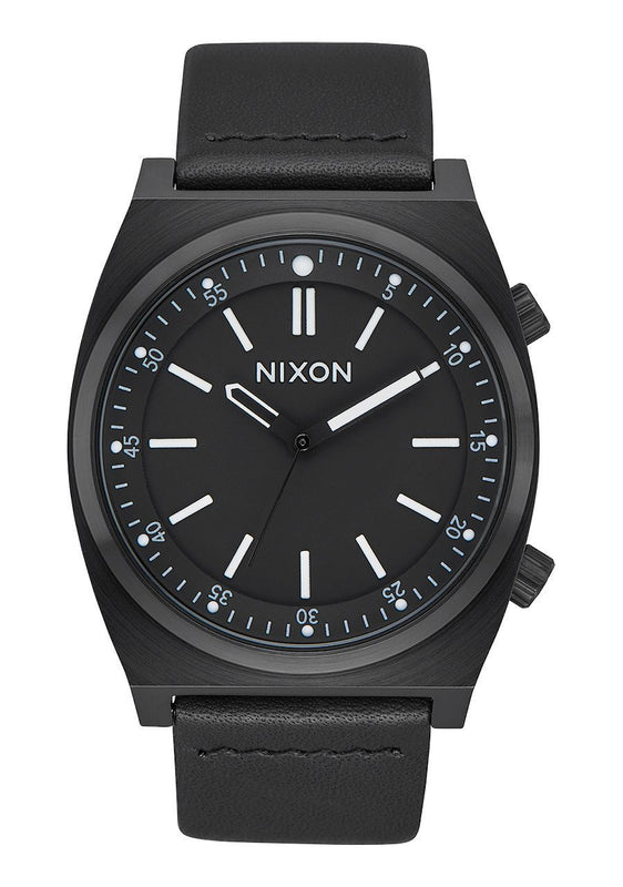 Nixon Men's Brigade Leather Watch