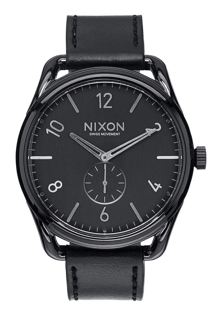 Nixon Men's C45 Leather Watch
