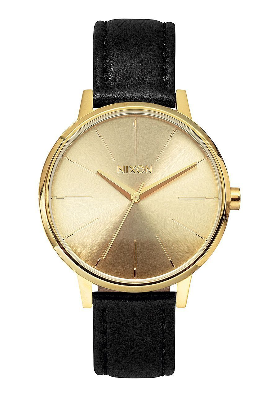 Nixon Men's Kensington Leather Watch