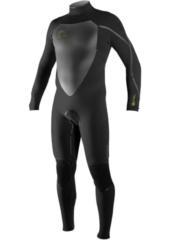 O'Neill Men's Heat 3/2 3Q-Zip Back Zip Wetsuit