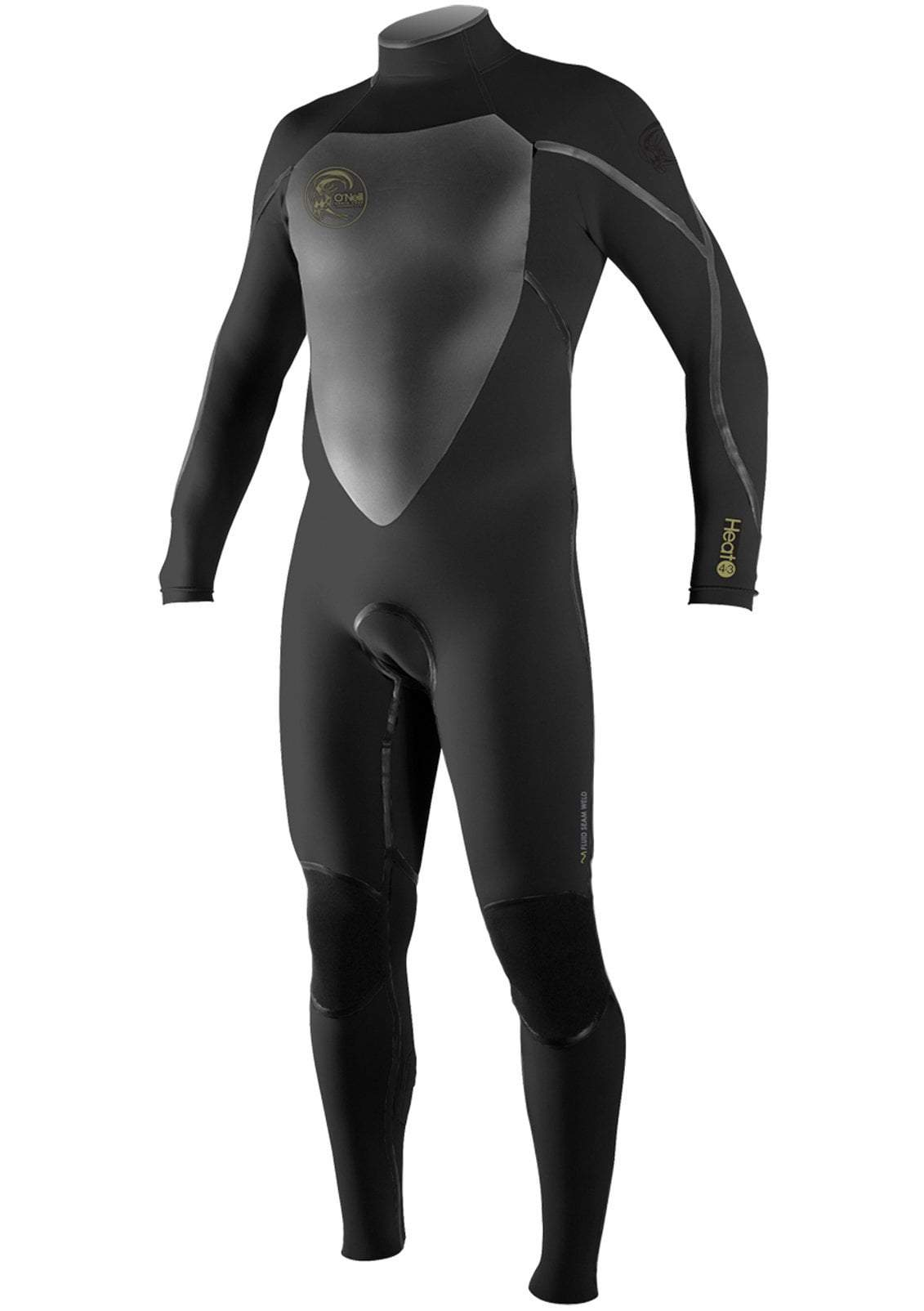 O'Neill Men's Heat 4/3 3Q-Zip Fullsuit Surfing Wetsuit