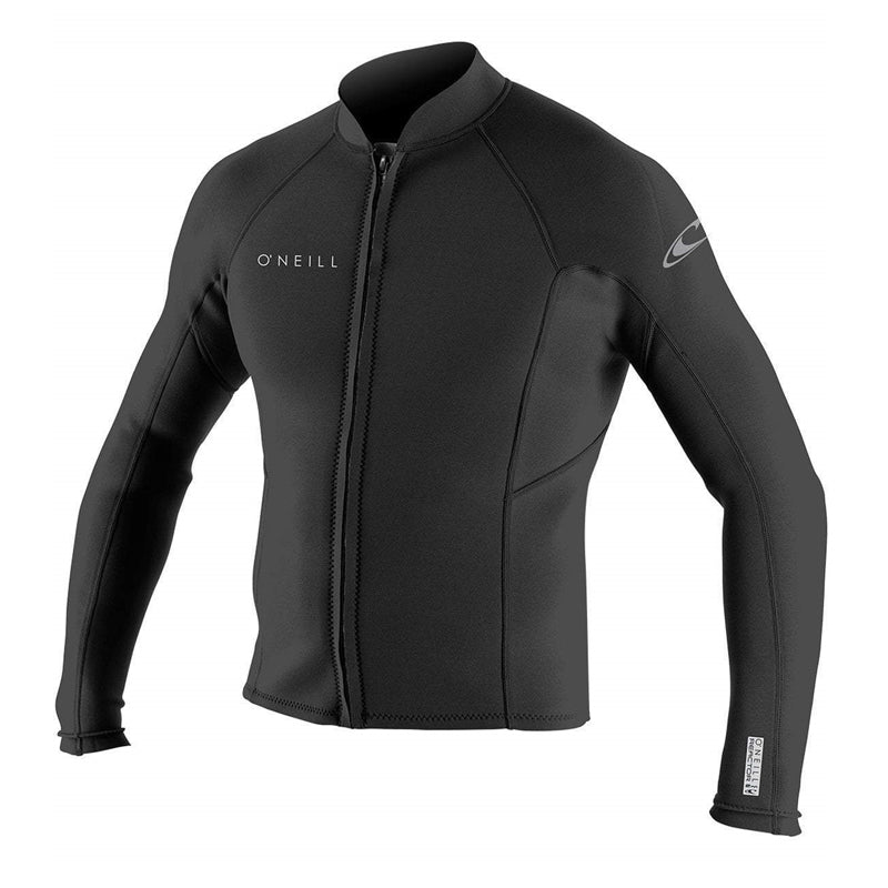 O'Neill Men's Wetsuits Reactor II 2mm Chest Zip L/S Jacket