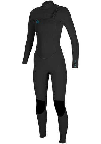 O'Neill Women's Original Fuze 4/3 Chest Zip Full Wetsuit