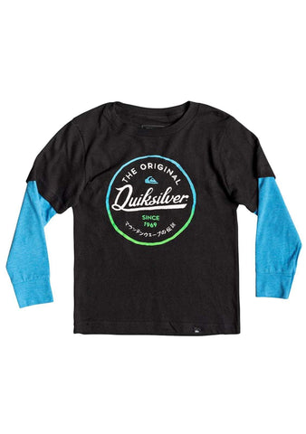 Little Boy's 2-7 Japan Circle Tech L/S Tee