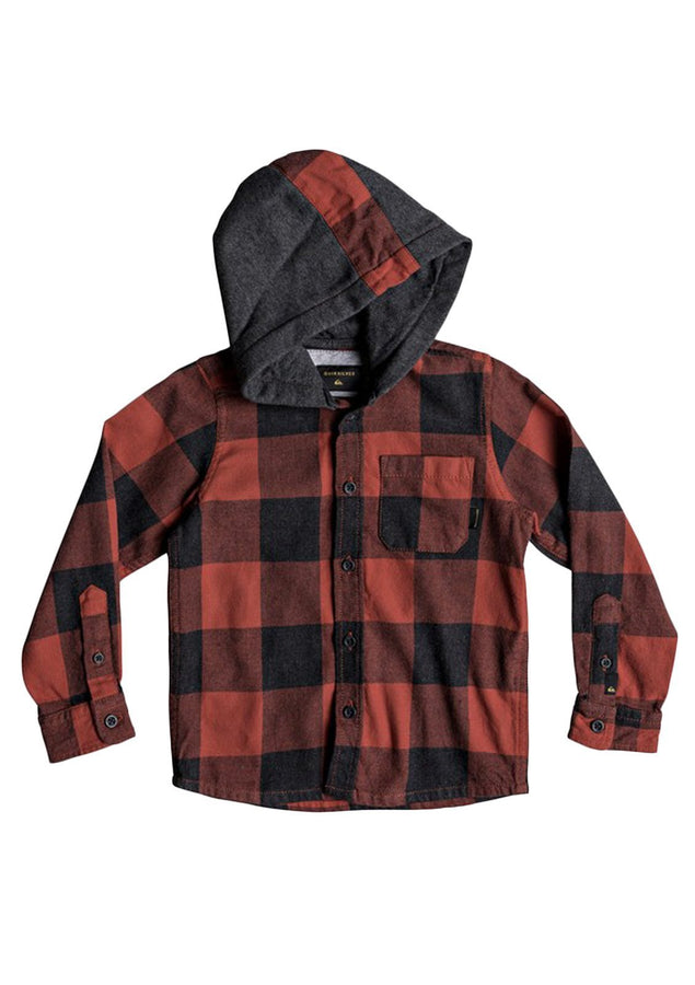 Little Boy's 2-7 Motherfly Hooded Shirt