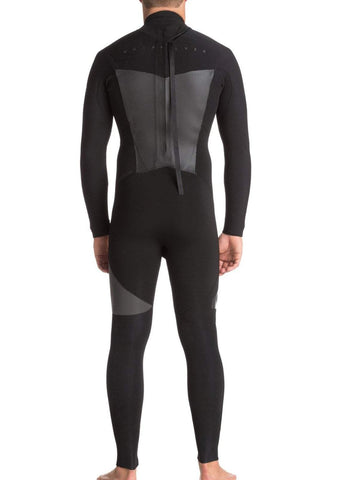 Quiksilver 3/2mm Syncro Series Back Zip GBS Wetsuit