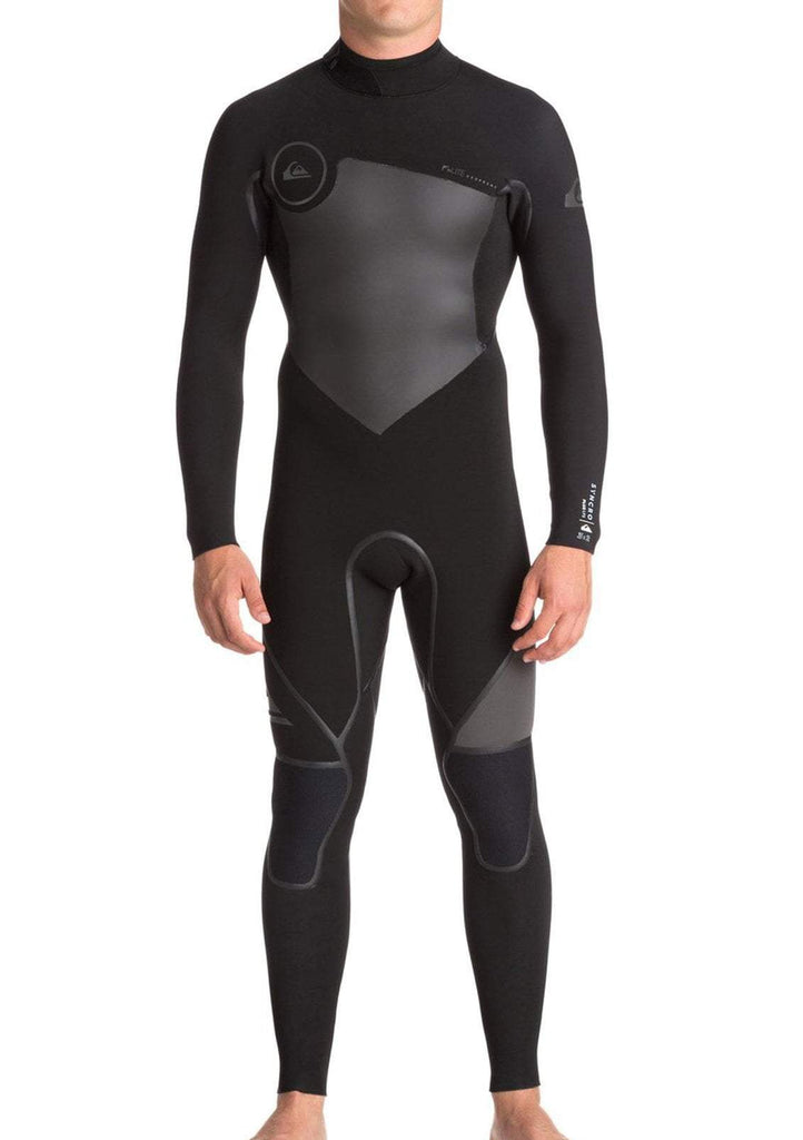 Quiksilver 3/2mm Syncro Plus Back Zip Wetsuit