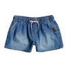 Girls Honey Sunday Elasticized Denim Shorts
