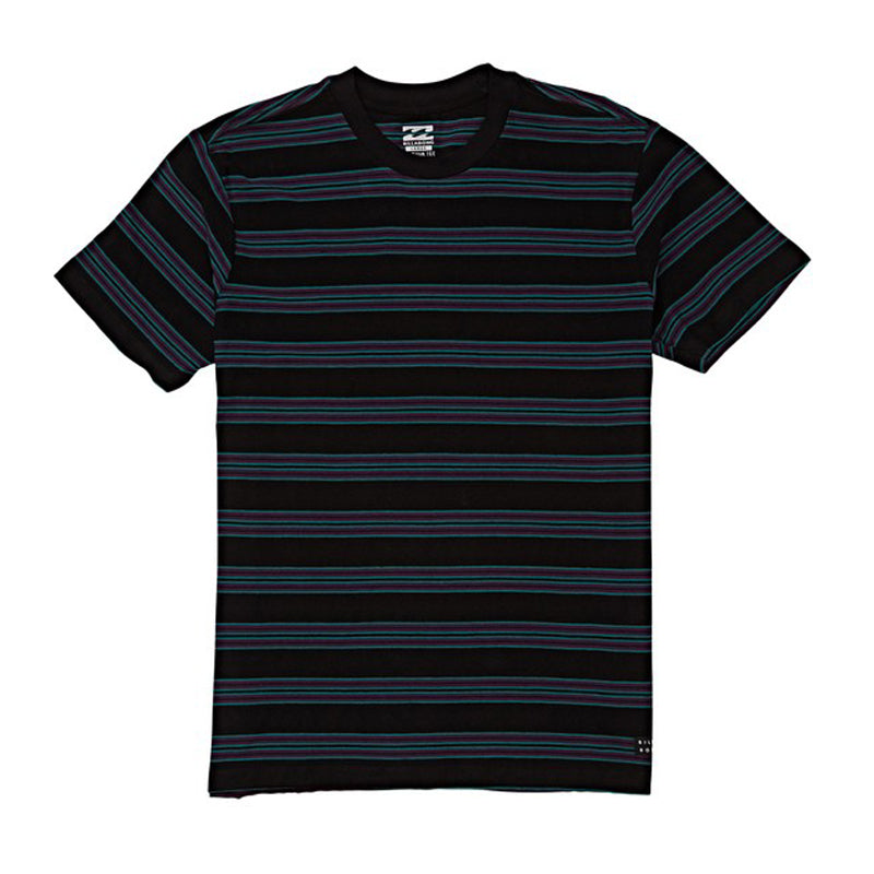 Boys Die Cut Stripe S/S Tee