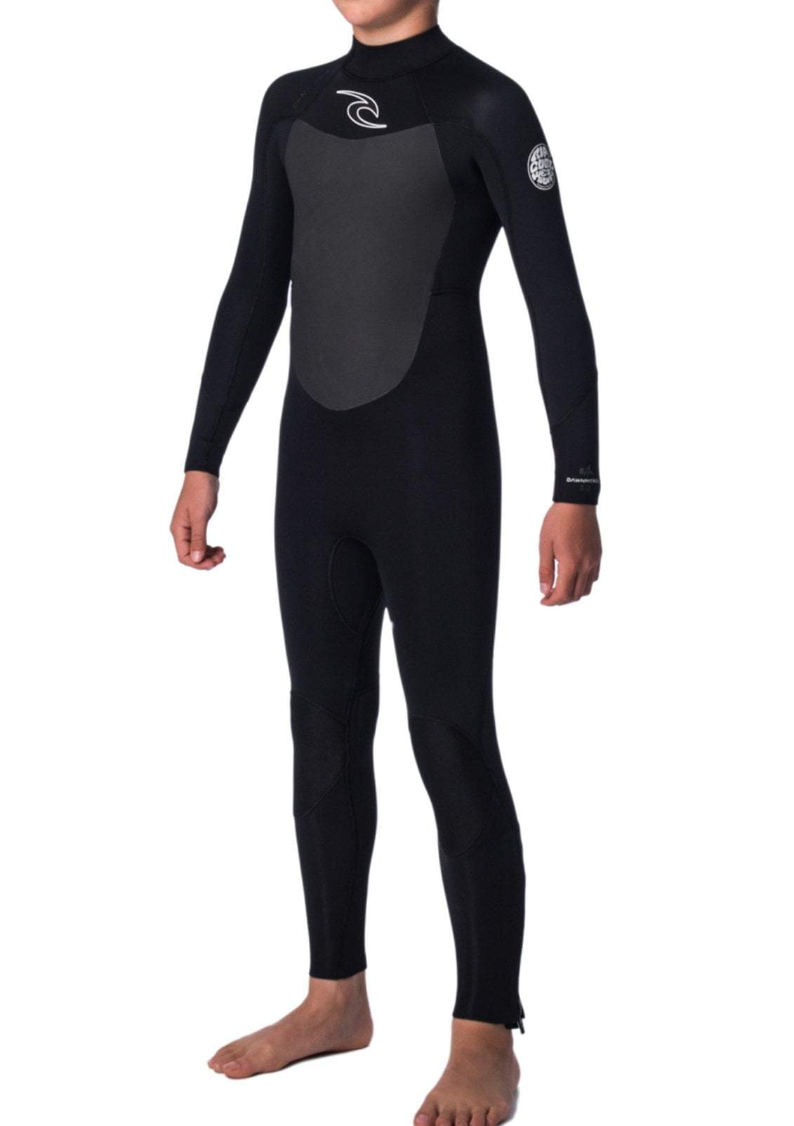 Rip Curl's Junior Dawn Patrol 4/3 Back Zip Wetsuit