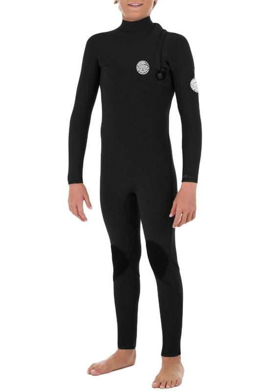 Rip Curl Youth Flashbomb 4/3 Zip Free Fullsuit Wetsuit