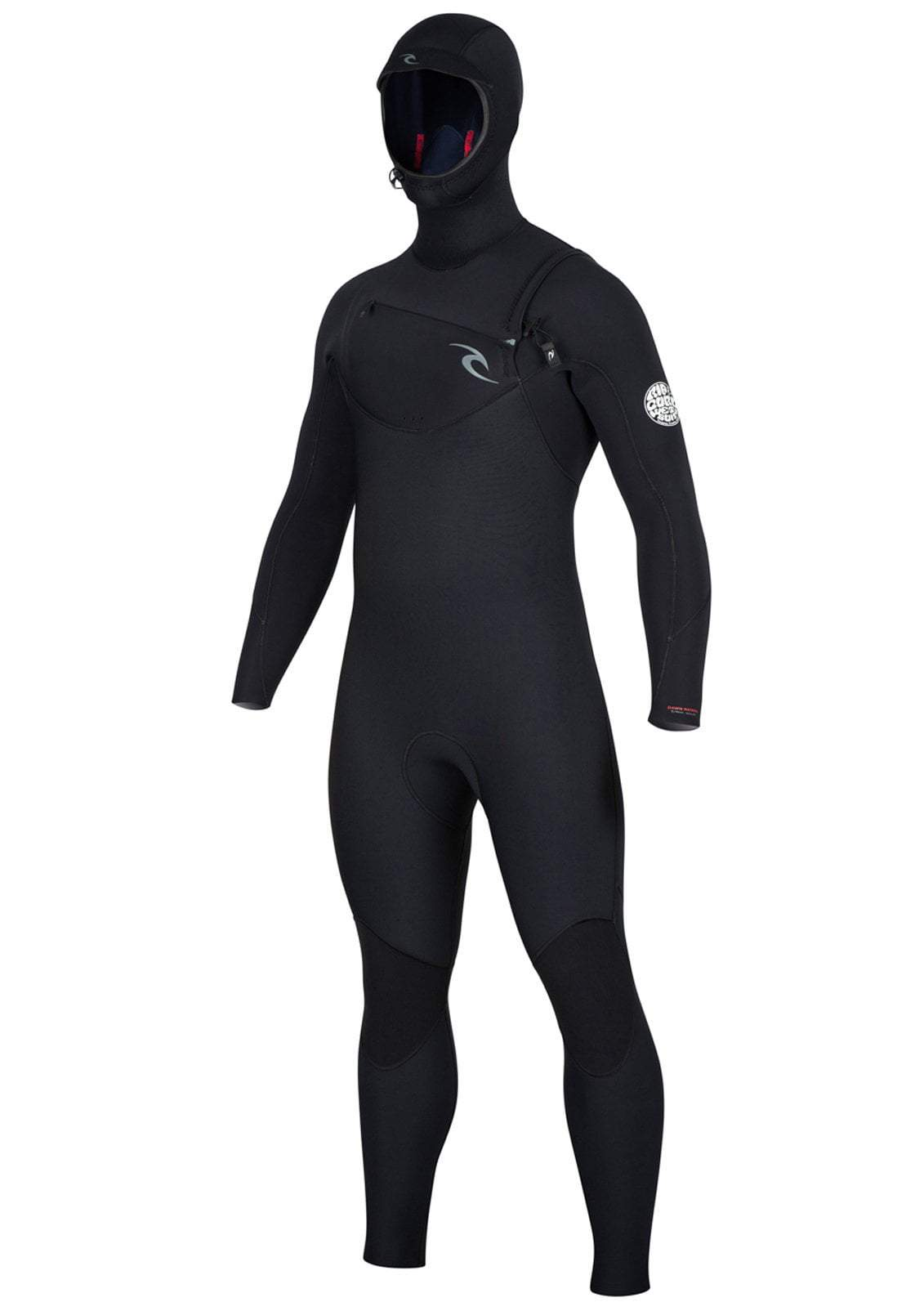 Rip Curl Dawn Patrol 5/4 Hooded Chest Zip Wetsuit