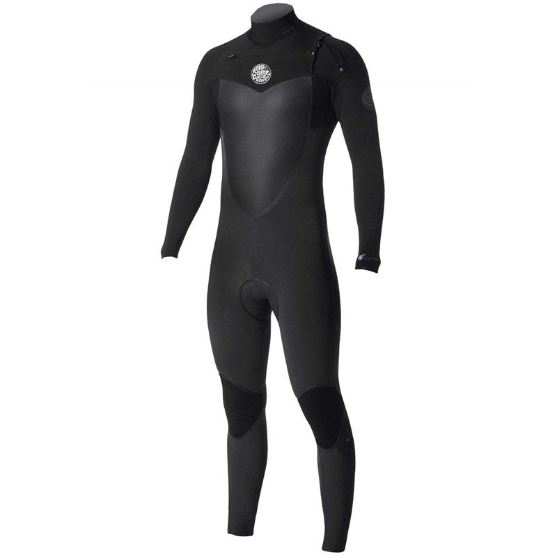 Rip Curl Men's Flashbomb 4/3mm Chest Zip Fullsuit Wetsuit FA19