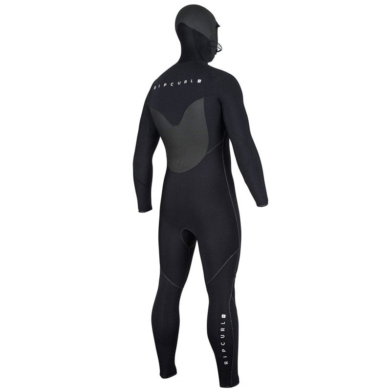 Rip Curl Men's Flashbomb 5/4mm Hooded Fullsuit Wetsuit SP20