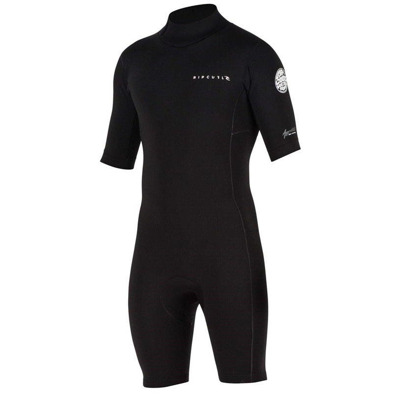 Rip Curl Men's Aggrolite S/S Back Zip Springsuit Wetsuit SP20
