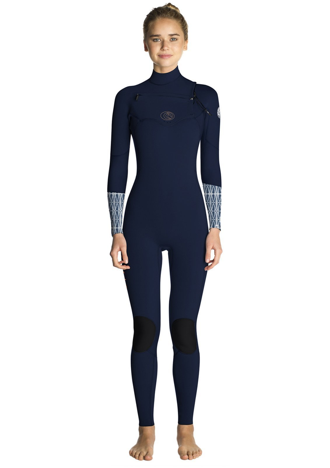 Rip Curl Women's Flashbomb 3/2 Chest Zip Fullsuit Wetsuit