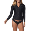 Rip Curl Women's Belle FZ Rash Guard
