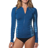 Rip Curl Women's Trestles FZ Rash Guard