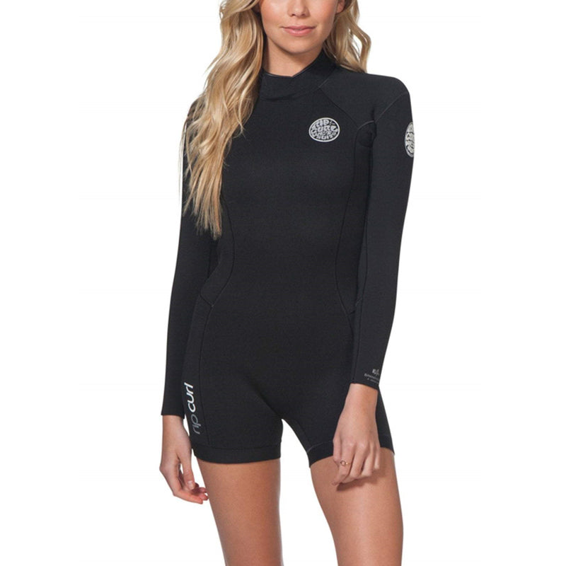 Rip Curl Women's Dawn Patrol 2/2MM Back Zip Long Sleeve Springsuit SP20