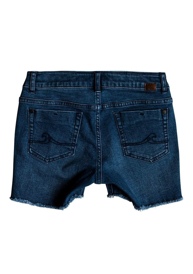 Girl's Light Hearted Denim Shorts