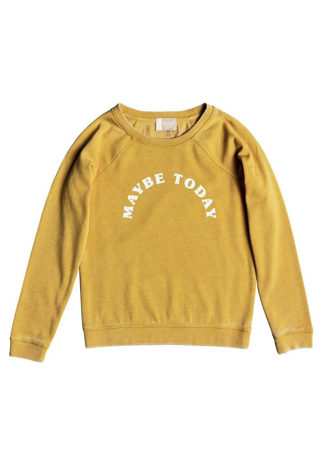 Girl's Fingers Crossed Maybe Sweatshirt