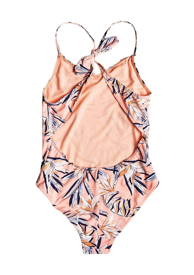 Girl's Born In Waves One Piece Swimsuit