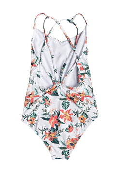 Girl's Let Surf One-Piece Swimsuit