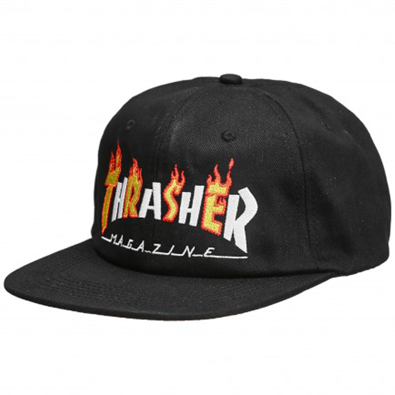 Flame Mag Snapback Hat