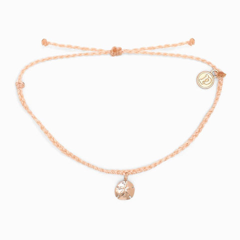 Rose Gold Sand Dollar Bracelet
