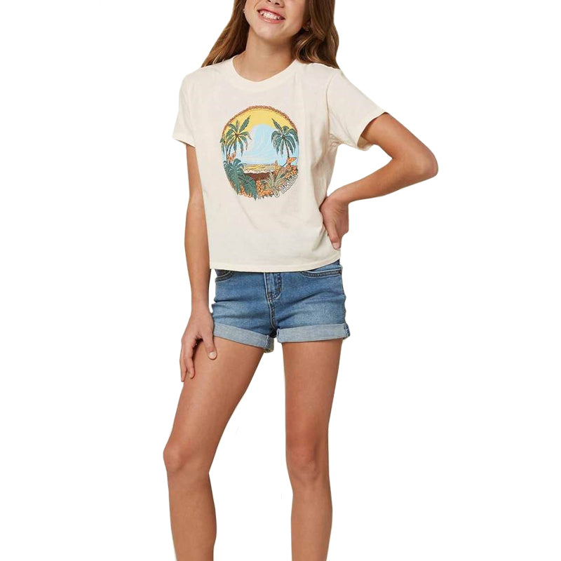 O'Neill Girls Secret Spot S/S Tee SP20